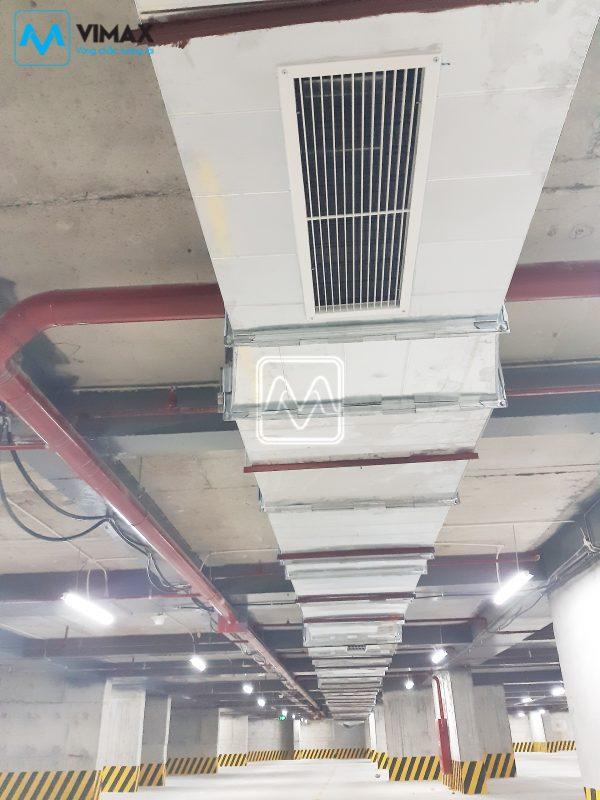 Dự án tăng áp thông gió làm mát chung cư