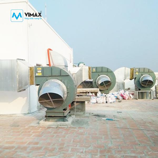 Hệ thống hút bụi quạt công nghiệp
