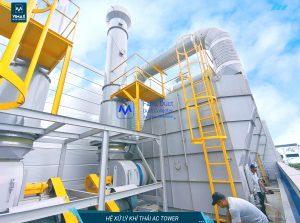 Hệ thống xử lý khí khuôn ép nhựa