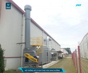 Hệ thống xử lý khí thải VOC