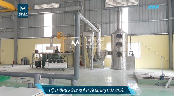 Hệ thống xử lý khí axit