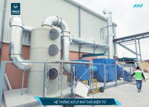 Xử lý khí thải ngành điện tử