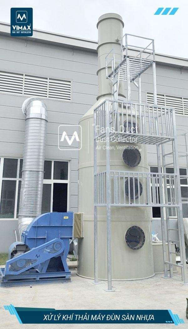 Hệ thống xử lý khí nhựa