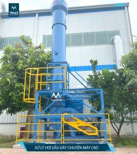 Hệ thống xử lý hơi dầu máy CNC
